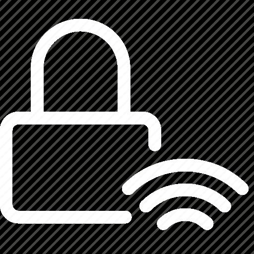 access, autostart, keyless, open, unlock, wireless icon