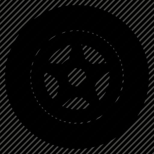 automotive, copy, tires2 icon