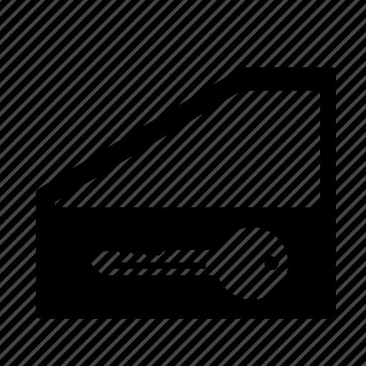 auto, car, door, key icon