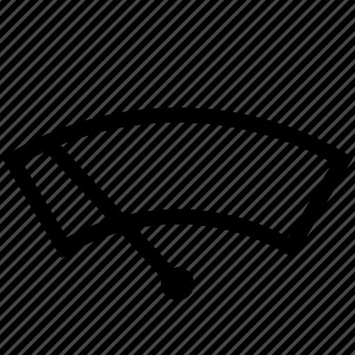 auto, windscreen, windshield, wiper icon