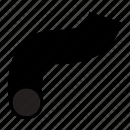 automotive, hose, radiator, tube icon