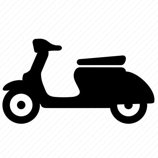 automotive, bike, scooter, vespa icon