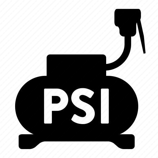 automotive, psi, pump, tire icon