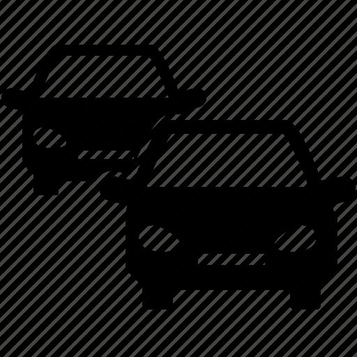 auto, automobile, cars, line up, lineup, parking, rent, series icon