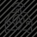 autonomous, car, location, service icon