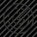 car, long range, lrr, radar icon