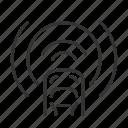 assist, brake, eba, emergency icon