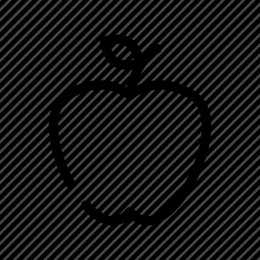 apple, autumn, fruit, thanksgiving, winter icon