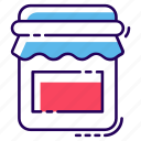 container, jam jar, kitchen utensil, milk container, oil jar icon