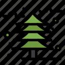autumn, cold, leaf, tree icon