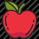healthy, ripe, apple, food, diet, eat, fruit