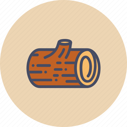 autumn, block, forest, log, lumberjack, wood, wooden icon