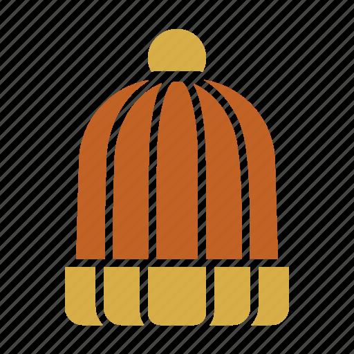 beanie, cold, fashion, knitted, warm, wear, winter icon