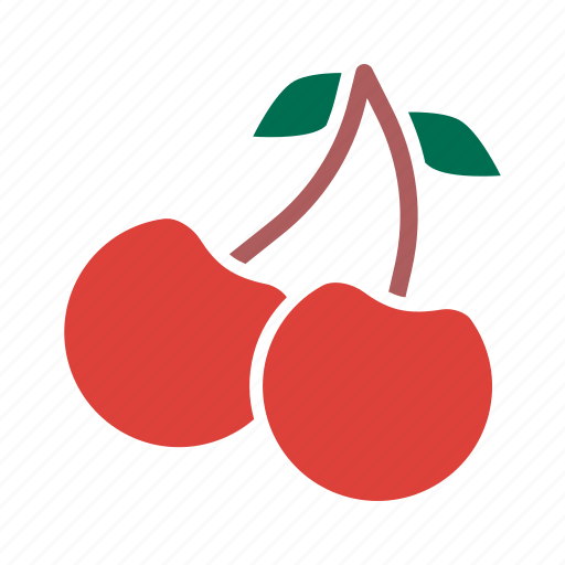 autumn, berries, berry, cherries, cherry, fruit, season icon