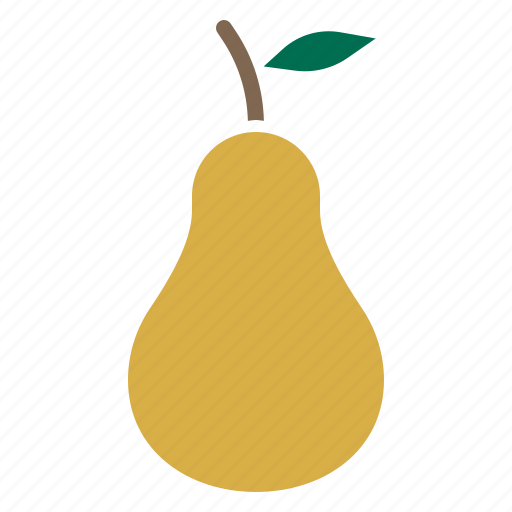 autumn, food, fruit, healthy, pear, produce, spring icon