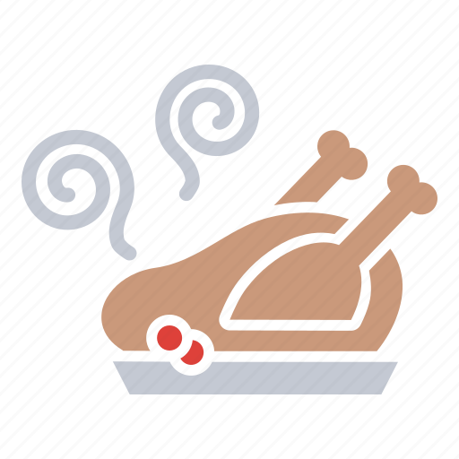 chicken, dinner, food, meal, roasted, thanksgiving, turkey icon