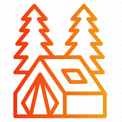 Adventure, camping, forest, outdoor, picnic icon - Download on Iconfinder