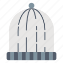 autumn, beanie, cap, hat, headwear, knitted icon