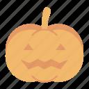 autumn, celebration, emoticon, face, halloween, pumpkin, scary icon
