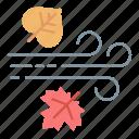 autumn, fall, rain, rainy, season icon