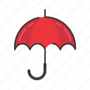 autumn, fall, protection, rain, season, umbrella icon