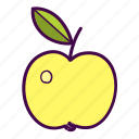 apple, food, vegan, vegetarian icon
