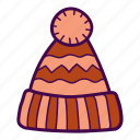 clothes, hat, warm, wool icon