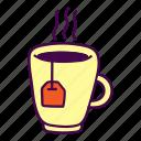 bag, drink, hot, tea icon