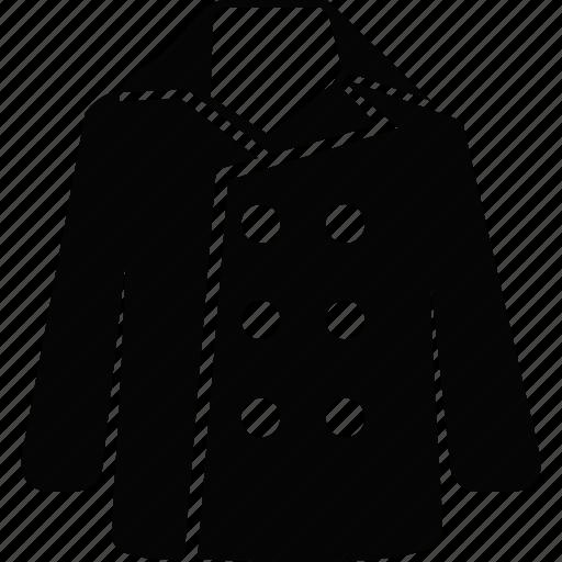 clothing, coat, jacket, winter icon