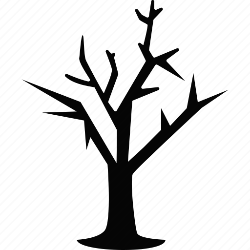 halloween, nature, tree, winter icon