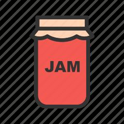 bottle, fruit, jam, jar, organic, pickle, sweet icon