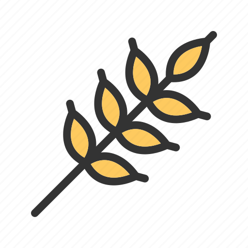 crop, field, food, golden, harvest, nature, wheat icon