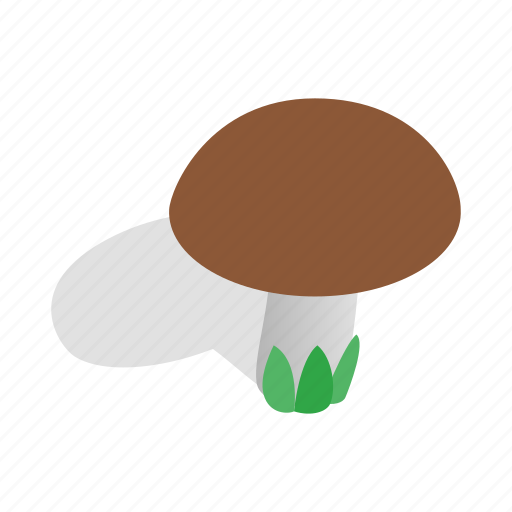 Food, graphic, healthy, isometric, mushroom, nature, vegetable icon - Download on Iconfinder