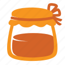 autumn, food, honey, jam, jar, kitchen, sweet icon