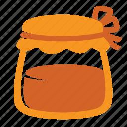 autumn, food, honey, jam, jar, kitchen, sweet icon