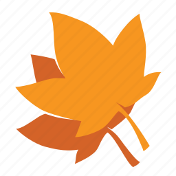 autumn, fall, forest, leaf, maple, nature, tree icon