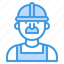 avatar, construction, people, profile, user, worker icon