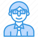 avatar, businessman, people, profile, teacher, user icon