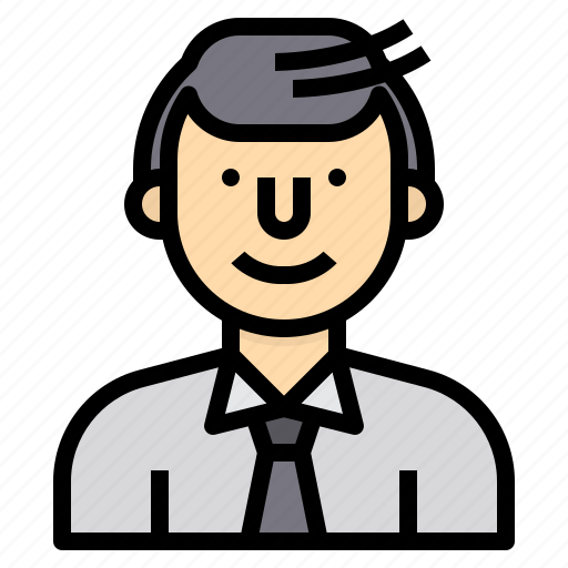 avatar, business, man, people, profile, user, worker icon