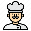 avatar, chef, cook, people, profile, user