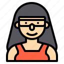 avatar, people, profile, scientist, user icon