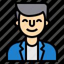 avatar, man, people, profile, teacher, user icon