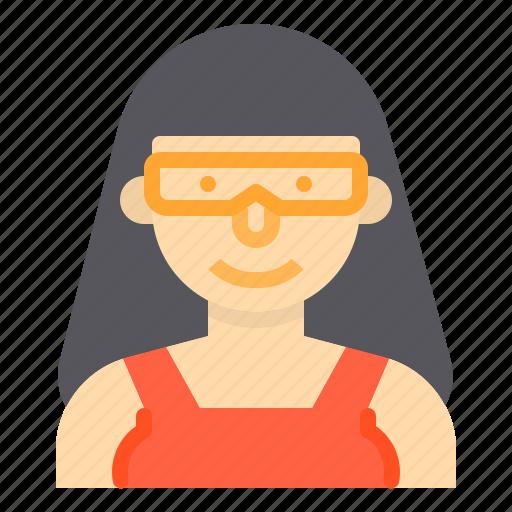 avatar, people, profile, scientist, user icon
