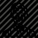 avatar, barber, man, hairdresser, user icon