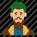 avatar, homeless, man, old, senior