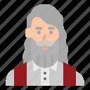 avatar, christian, man, pastor, priest icon