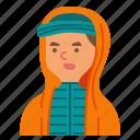 hat, wool, boy, profile, hood, avatar, man
