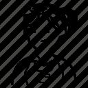 maid, woman, avatar, user, profile, woker, headband icon