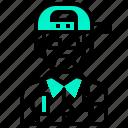 avatar, dj, human, man, occupation, profession
