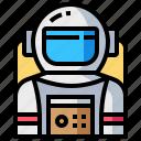 astronaut, avatar, human, man, occupation, profession icon